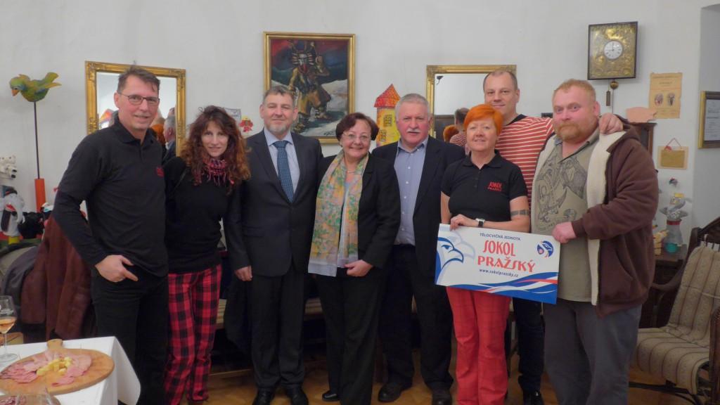 Setkání s velvyslankyní Věrou Zemanovou a se starostou hostitelského města Sevnica
