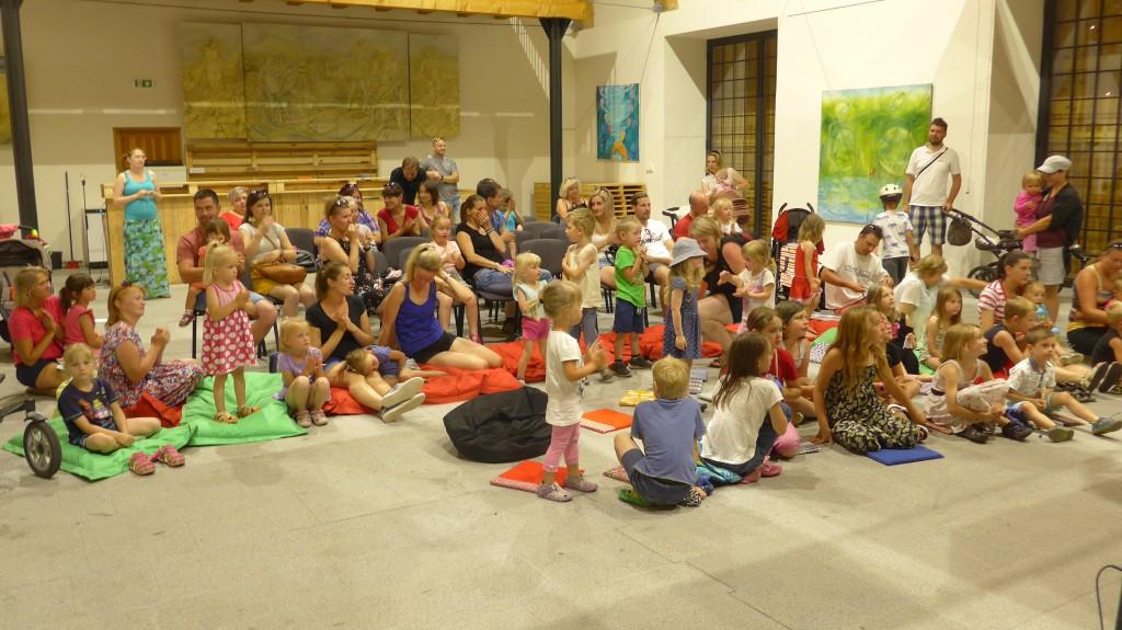 Publikum v Telči