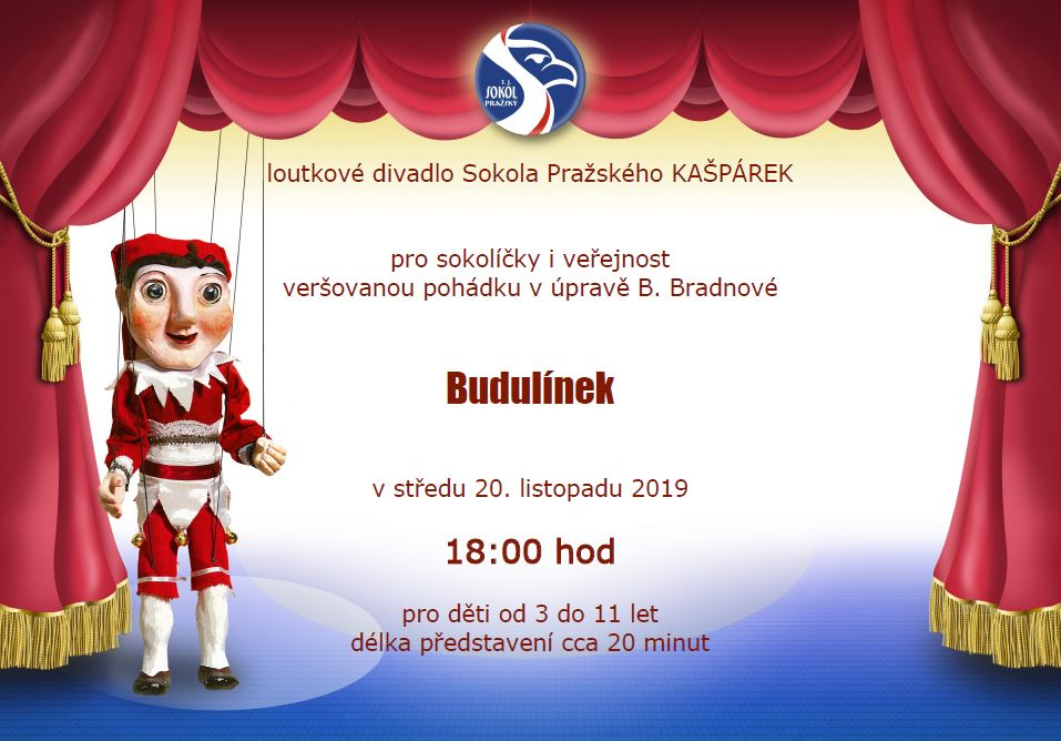 2019-11-20 Budulínek verejnost 18.00