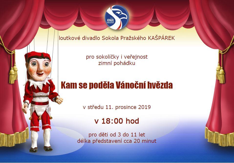 2019-12-11 Vánoční hvězda 18.00 sokolíčci a veřejnost